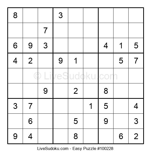 Beginners Puzzle #100228