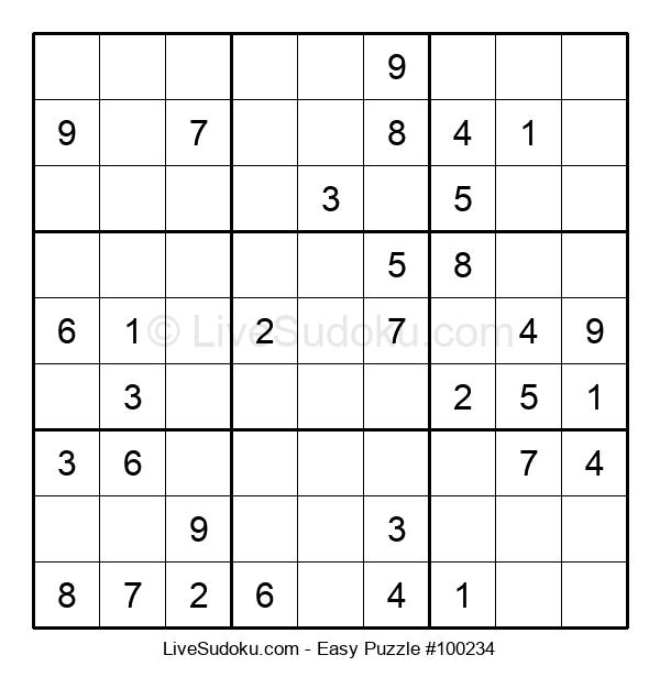 Beginners Puzzle #100234