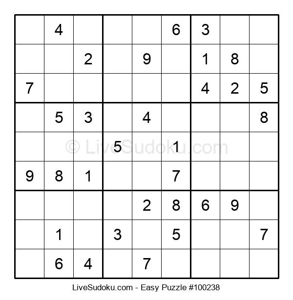 Beginners Puzzle #100238