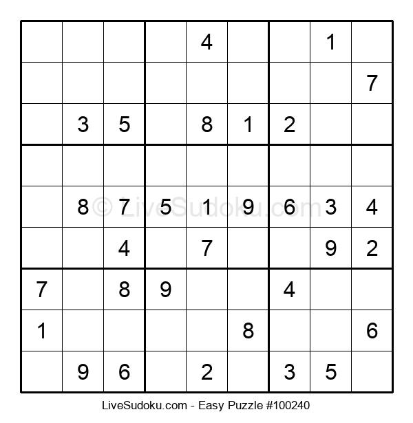 Beginners Puzzle #100240
