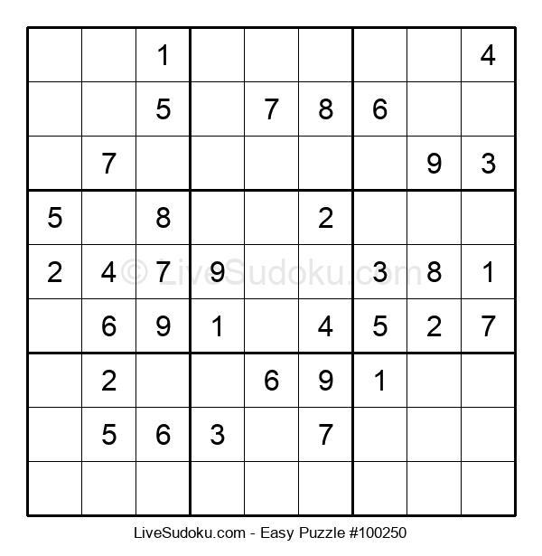 Beginners Puzzle #100250