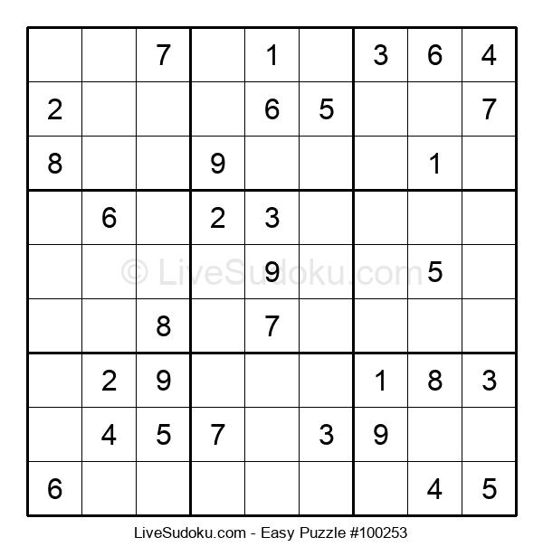 Beginners Puzzle #100253