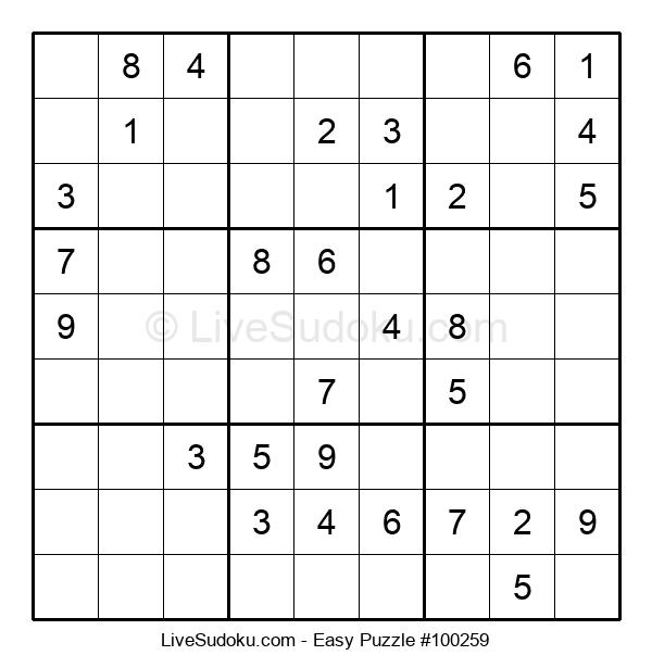 Beginners Puzzle #100259