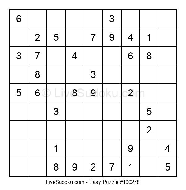 Beginners Puzzle #100278