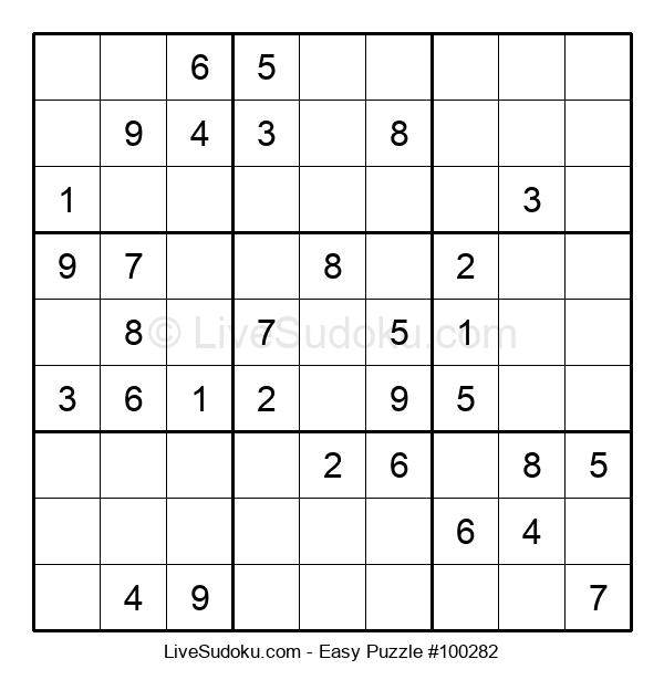 Beginners Puzzle #100282