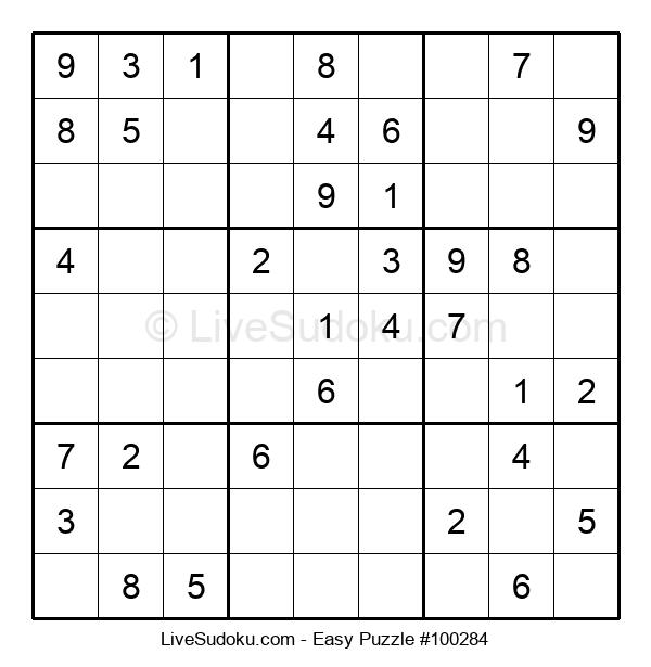 Beginners Puzzle #100284