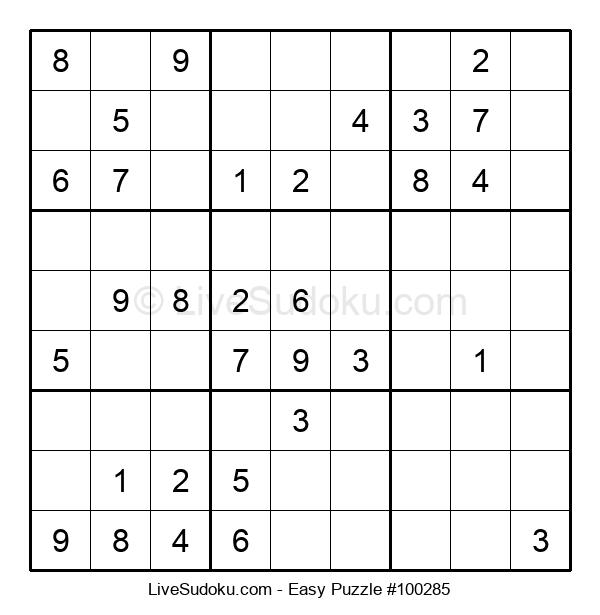 Beginners Puzzle #100285