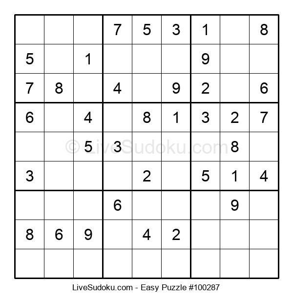 Beginners Puzzle #100287