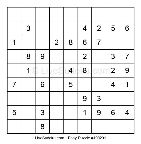Beginners Puzzle #100291
