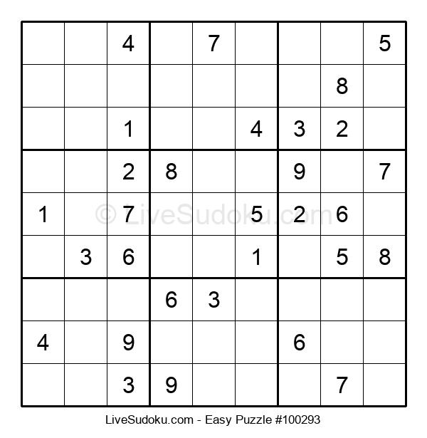 Beginners Puzzle #100293