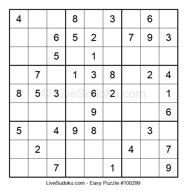 Beginners Puzzle #100299