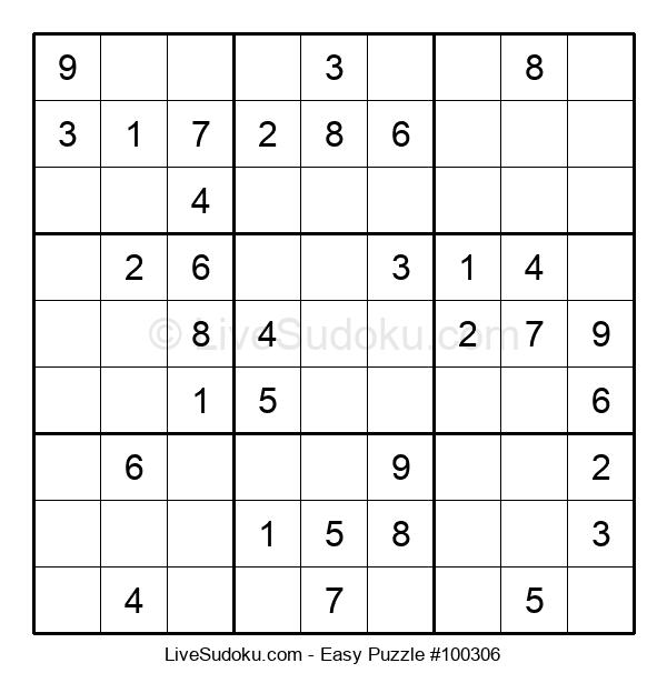 Beginners Puzzle #100306
