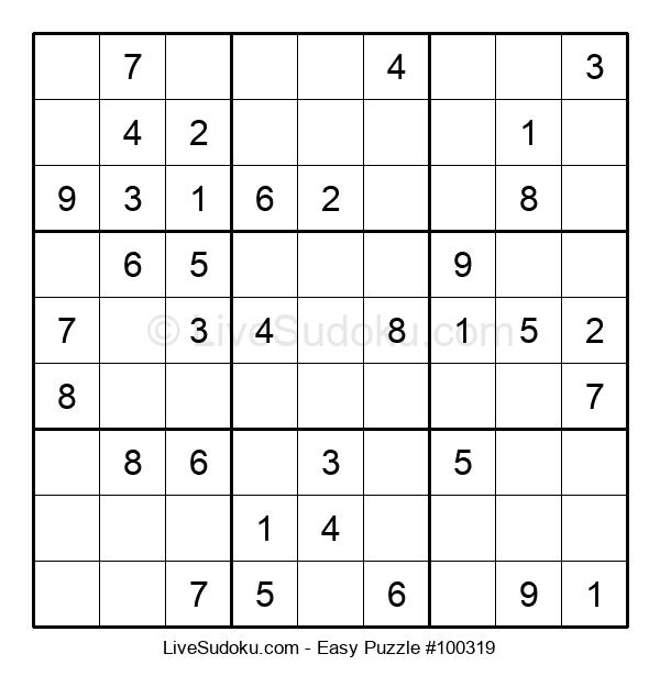 Beginners Puzzle #100319