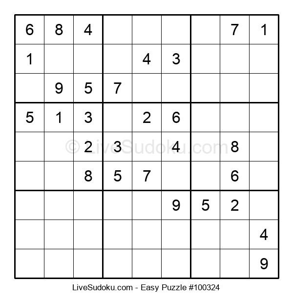 Beginners Puzzle #100324