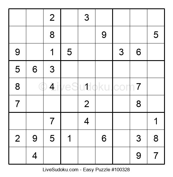 Beginners Puzzle #100328