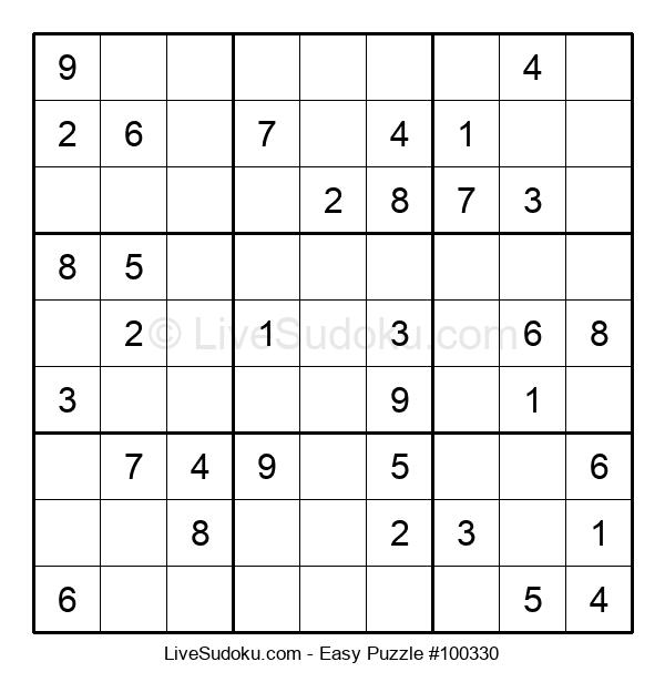 Beginners Puzzle #100330