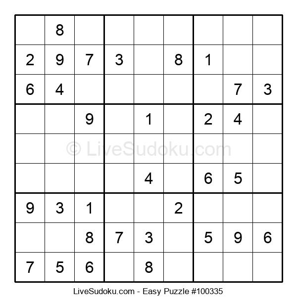 Beginners Puzzle #100335