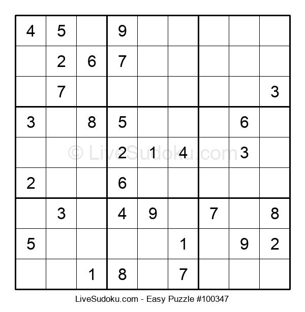 Beginners Puzzle #100347