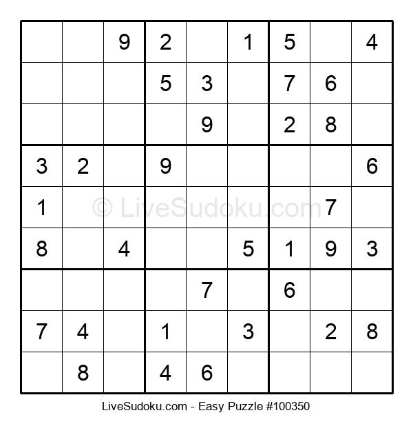 Beginners Puzzle #100350