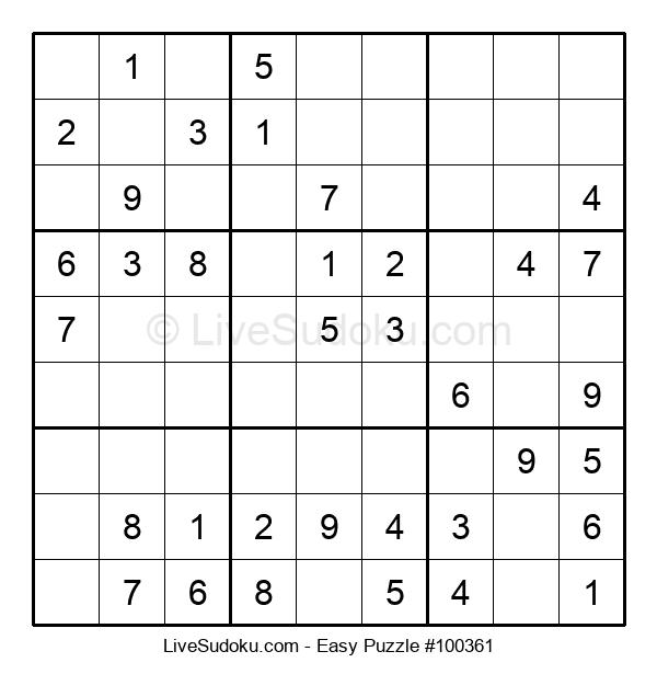 Beginners Puzzle #100361