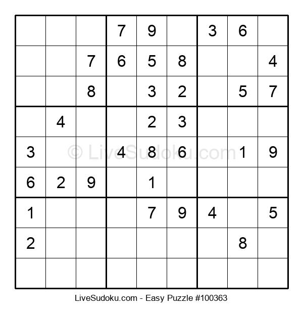 Beginners Puzzle #100363