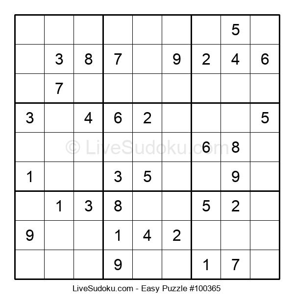 Beginners Puzzle #100365
