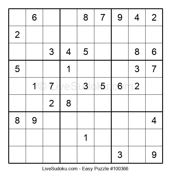 Beginners Puzzle #100366