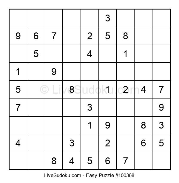 Beginners Puzzle #100368