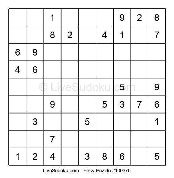 Beginners Puzzle #100376