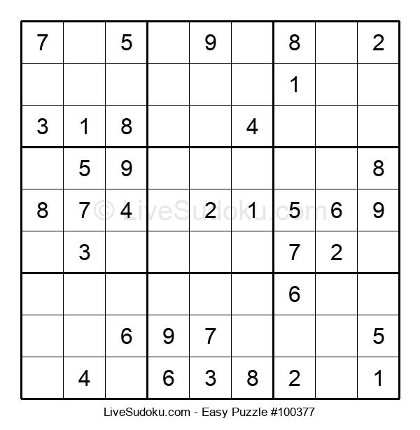 Beginners Puzzle #100377
