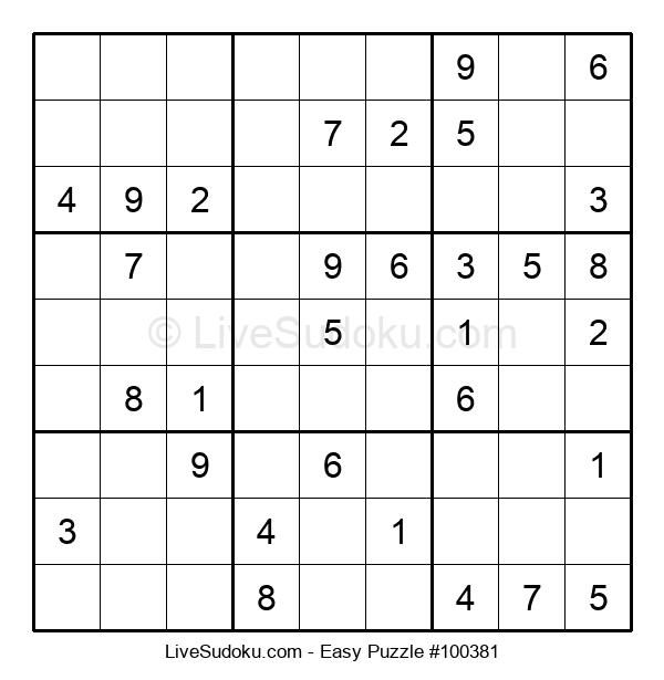 Beginners Puzzle #100381