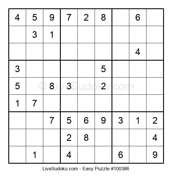 Beginners Puzzle #100386