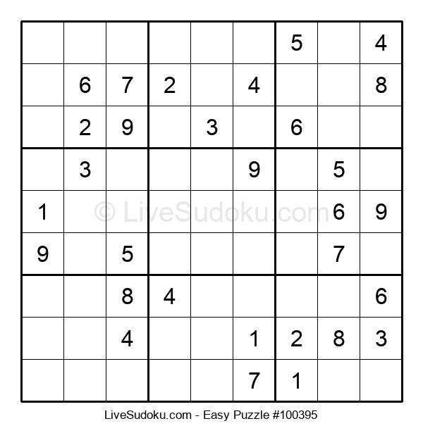 Beginners Puzzle #100395