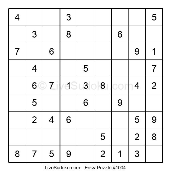 Beginners Puzzle #1004