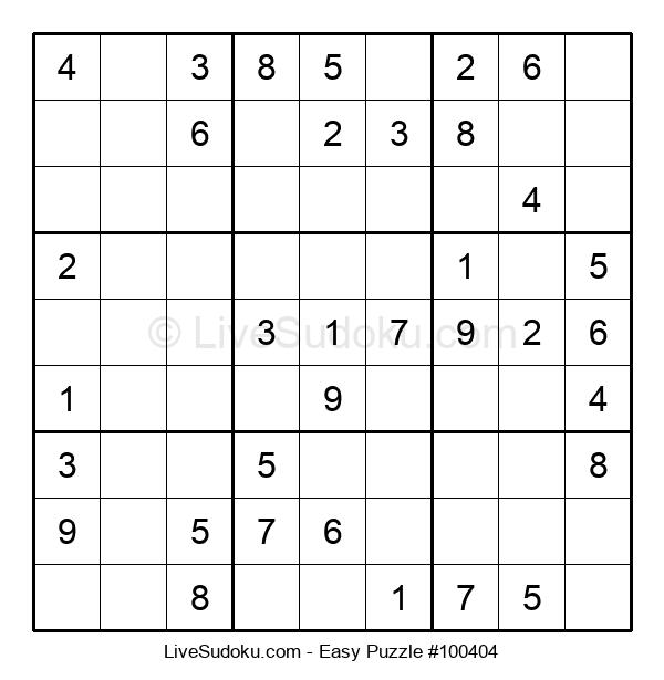 Beginners Puzzle #100404