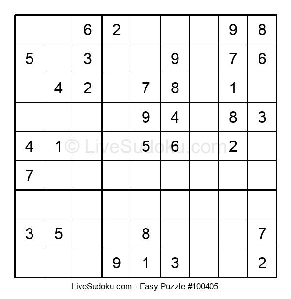Beginners Puzzle #100405