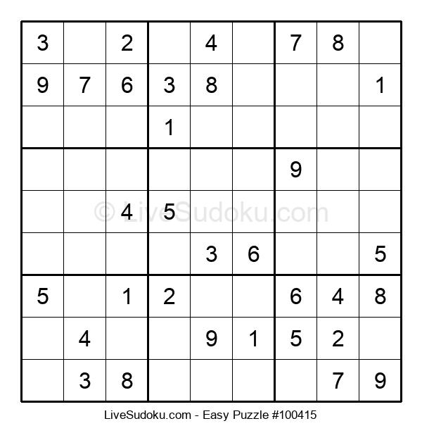 Beginners Puzzle #100415