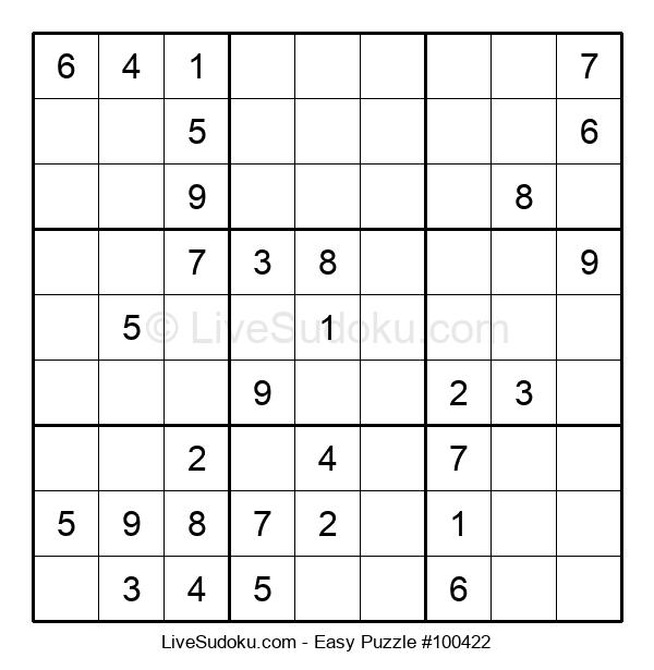 Beginners Puzzle #100422
