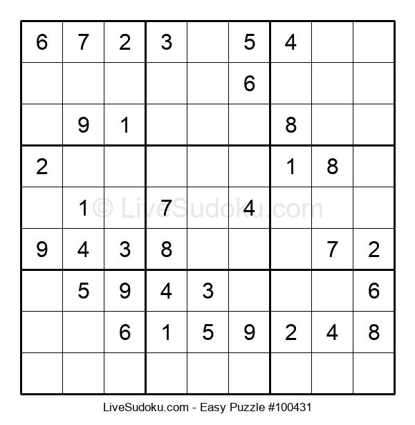 Beginners Puzzle #100431