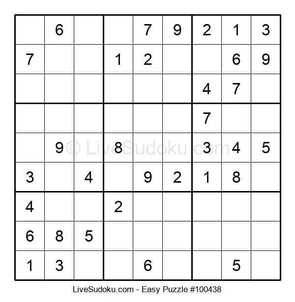 Beginners Puzzle #100438