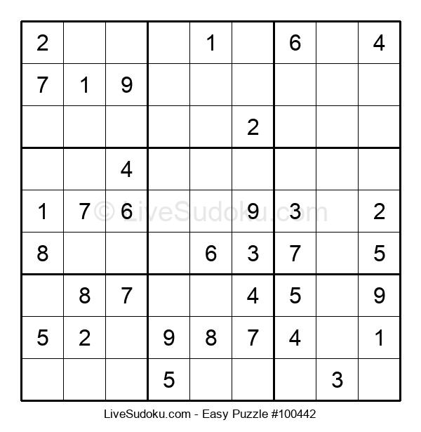 Beginners Puzzle #100442
