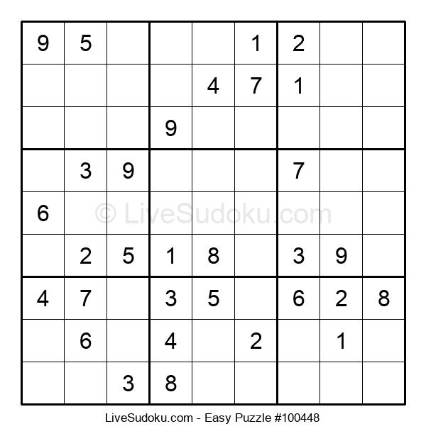 Beginners Puzzle #100448