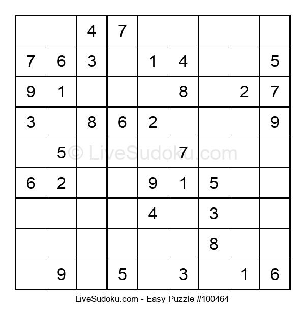 Beginners Puzzle #100464