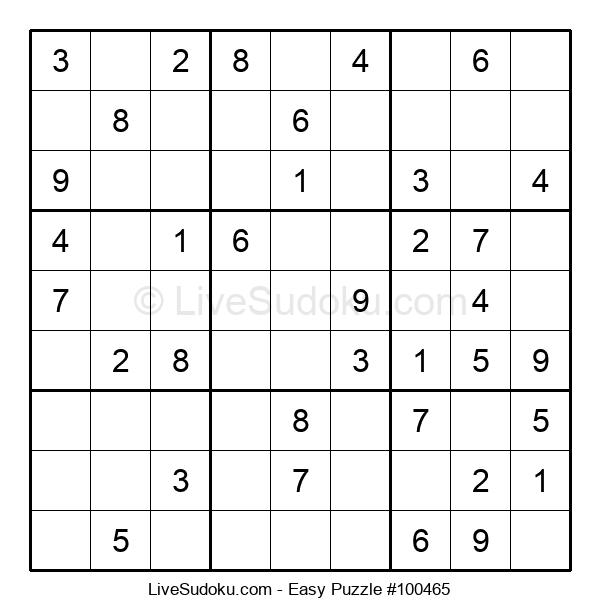 Beginners Puzzle #100465