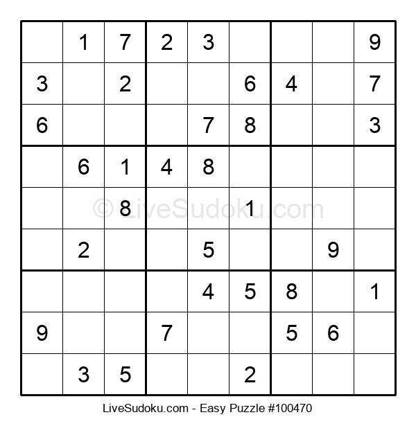 Beginners Puzzle #100470