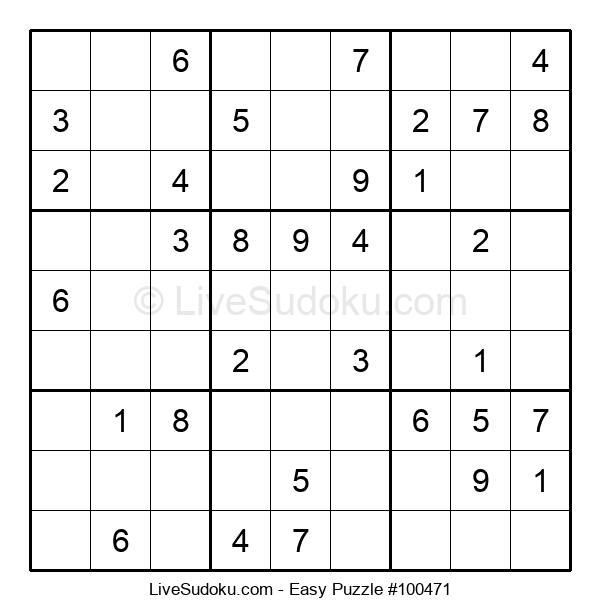 Beginners Puzzle #100471