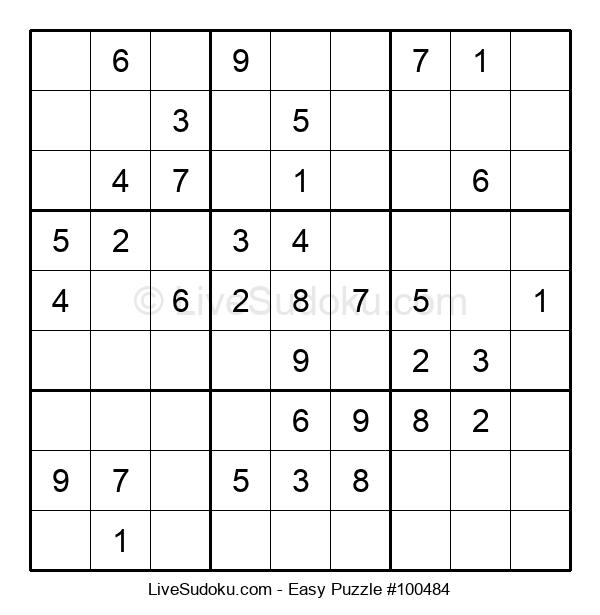 Beginners Puzzle #100484