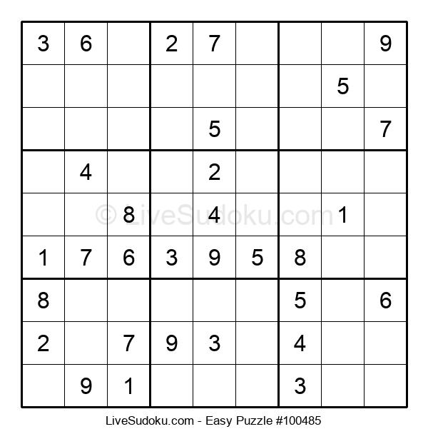 Beginners Puzzle #100485
