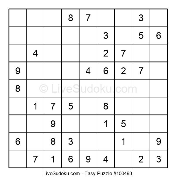 Beginners Puzzle #100493