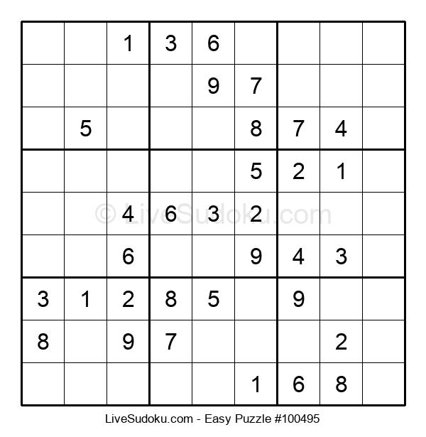 Beginners Puzzle #100495